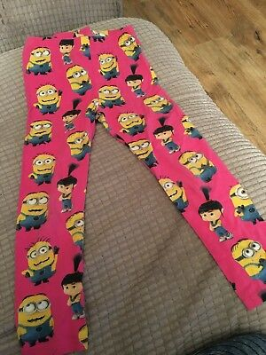 Girls Minion Pyjamas age 6-7