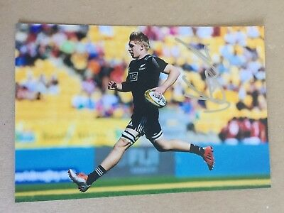 Jack Goodhue - New Zealand Rugby Player Signed 6x4 Photo