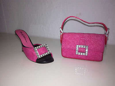 Just the right shoe Sparkle Shoe and Purse