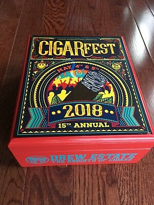 Cigarfest 2018 Humidor Cigar International & Drew Estate