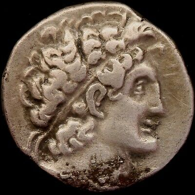 107-106 BC Ptolemaic Kingdom of Egypt Ptolemy IX Soter silver Tetradrachm coin