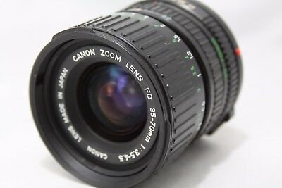 Canon Zoom New FD 35-70mm 1:3.5-4.5 Lens **For Repair** #T015b