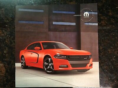 2017 DODGE CHARGER ACCESSORIES 16-page Original Sales Brochure