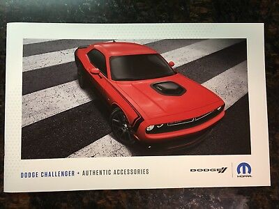 2018 DODGE CHALLENGER Accessories 18-page Original Sales Brochure
