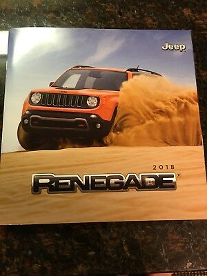2018 JEEP RENEGADE 58-page Original Sales Brochure