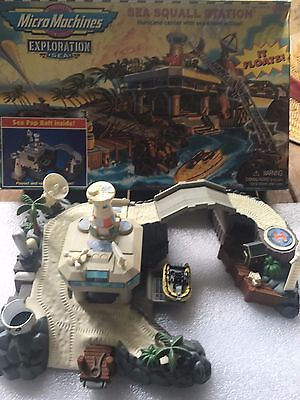 Collectable Micro Machines Sea Squall Station Play set 1997