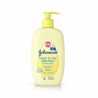 Johnson's Head-to-Toe Baby Lotion, 27 Fl. Oz