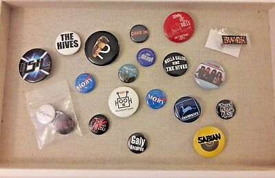 RARE Early to Mid 2000's Pin Button Lot* Hives Vines Moby Cave In Transplants