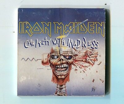 Iron Maiden JAPAN 3-INCH-cd-maxi CAN I PLAY WITH MADNESS © 1988 Heavy Metal 2-tr