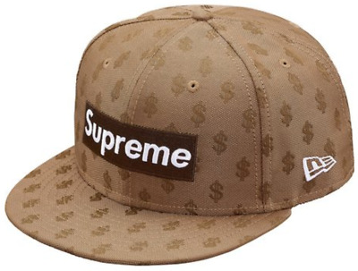 9c940f8a Supreme Monogram Box Logo New Era 7 1/8 Brown SS18 SOLD OUT Confirmed  Authentic