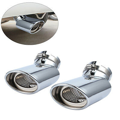 Exhaust Muffler Tail Pipe Stainless Steel Oval Tip for Range Rover