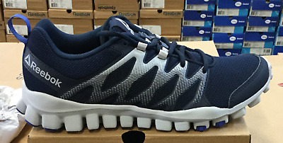 00a97ec1a22f Reebok RealFlex Train 4.0 Men's Running/Training Shoes Navy/Grey CN1169 L