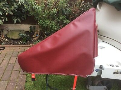 NEW maroon PVC Waterproof Universal Caravan,camping,towing Hitch Cover- Free P&p