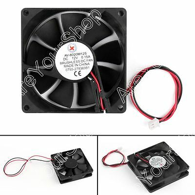 DC Brushless Cooling PC Computer Fan 12V 5028s 50x50x28mm 0.25A 2 Pin Wire UE