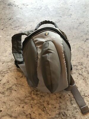 LittleLife Toddler Shark Daypack With Safety Rein NWT