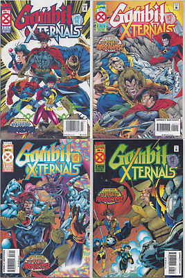 Gambit & the X-Ternals #1-4 (1995, Marvel) Age of Apocalypse Complete Run VF-NM