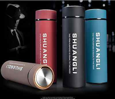 Stainless Steel Tea Water Coffee Flask Vacuum Thermos Cup Travel Mug Insulation