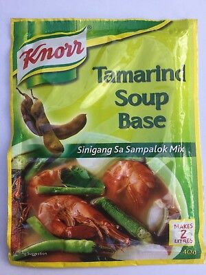 "Knorr Tamarind Soup Base Asian Sour Soup Mix 40g  ""AUSSIE STOCK"""