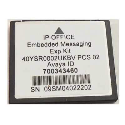 Avaya Embedded Voice Mail Essential Edition 700343460 for IP Office 500