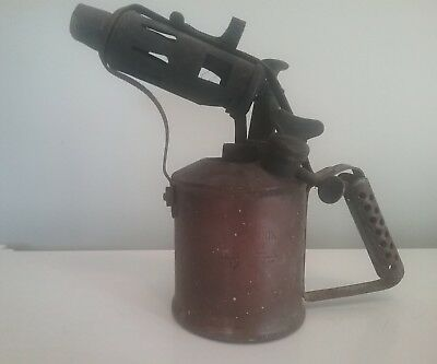 Vintage Companion Blow Torch ~ Made In Australia By Authority Max Sievert Sweden