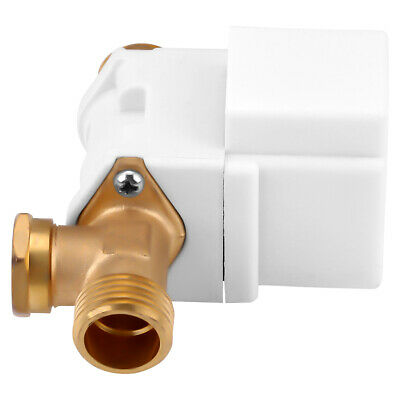 """DC 12V Electric Solenoid Valve Water Air Outside 1/2"""" Brass Normally Closed N/C"""