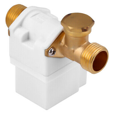 "DC 12V Electric Solenoid Valve Water Air Outside 1/2"" Brass Normally Closed N/C"