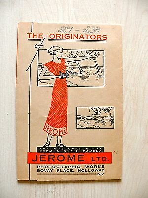 Vintage Jerome Photographic Sleeve