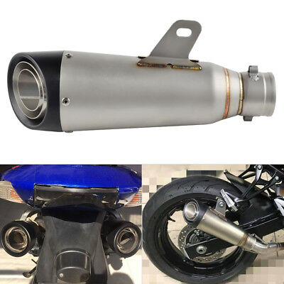 Universal ATV Motorcycle Scooter Quad Exhaust Muffler Pipe Escape Slip 38-51m