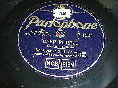 (9042) Nat Gonella & his Georgians # Deep Purple - South of the Border #