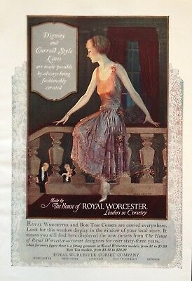 1930 Ad(H5)~Royal Worcester Corset Co. Worcester, Mass.