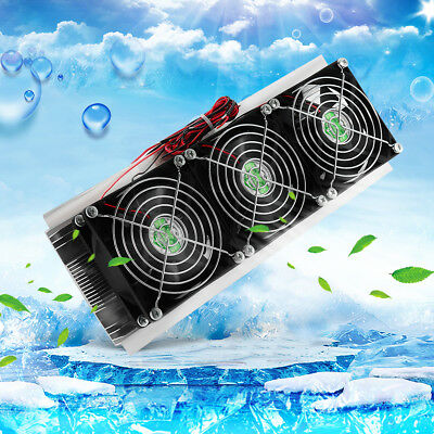 Semiconductor Refrigeration Radiator Thermoelectric Peltier Water Cooling Cooler