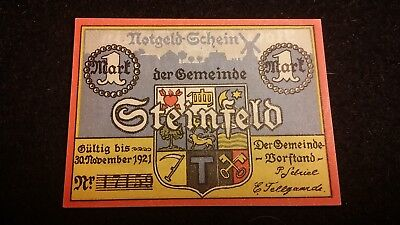 1921  Post Wwi German Hyperinflation Period Notgeld German Banknote  # 57