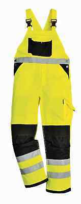 Portwest KS62 Xenon Men Work Bib & Brace Hi Vis Polycotton Protective Work Pants