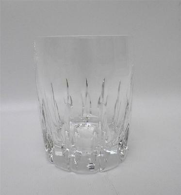 """Lenox Lead Crystal Firelight Clear Double Old Fashioned Glass 4"""""""