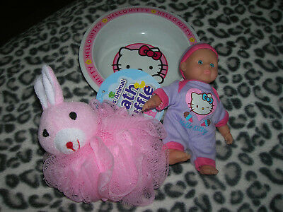 Three items for Baby Girl Hello Kitty