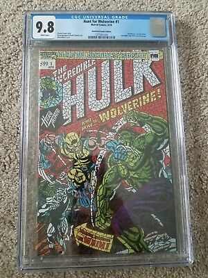 Hunt for Wolverine 1 HULK 181 CGC 9.8 VARIANT HOMAGE NM++ GEM MINT