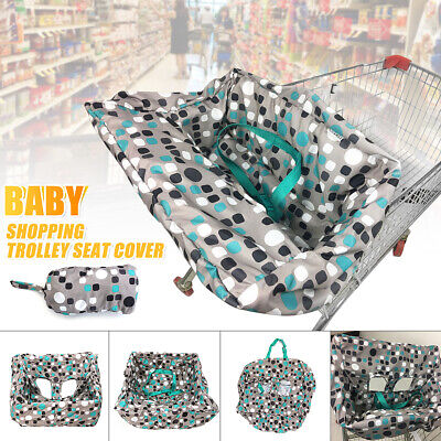 Baby Shopping Trolley Cart Cover Seat Child High Chair Protector Mat Cushion Pad