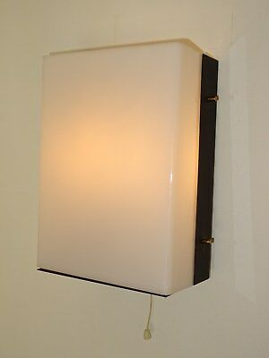 ancienne applique JACQUES BINY sconce french wall light design 1950 LUMINALITE