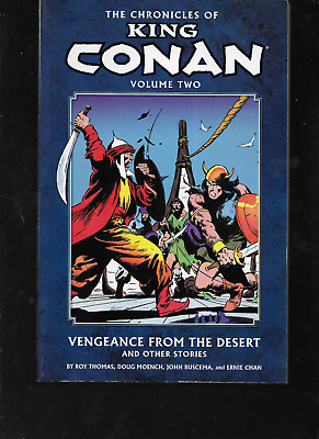 Chronicles of King Conan Vol 2: Vengeance from the Desert 2011 Marvel DH TPB