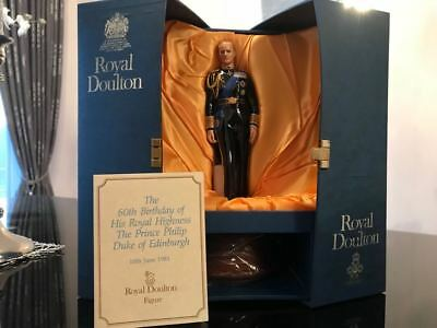 MINT, Royal Doulton Prince Philip. Duke of Edinburgh, Original Box and Paper!