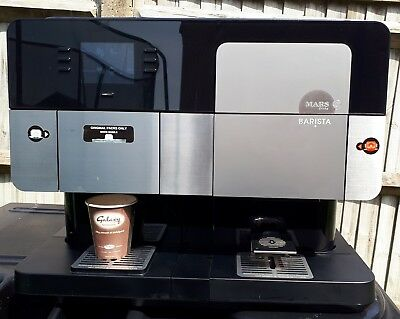 Flavia Barista coffee vending drinks machine. Exceptionally low vend of 381.