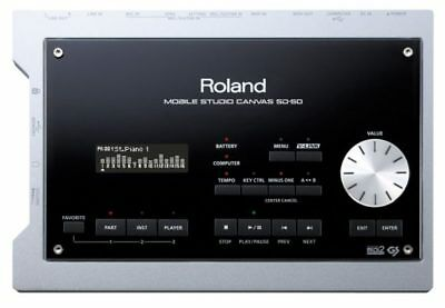 Roland Mobile Studio Canvas SD-50 USB MIDI Sound Module