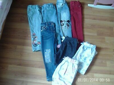little girls jeans and joggers age 3-4