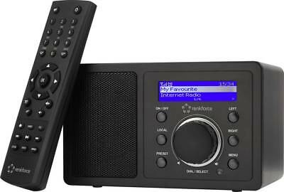 Renkforce RF-IR-MONO1 Internet Tischradio Bluetooth AUX Internetradio WL #14517