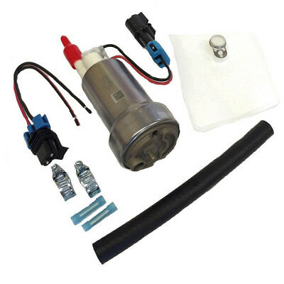 New F90000267 for Walbro 450LPH E85 Performance Fuel Pump Racing W Install Kit