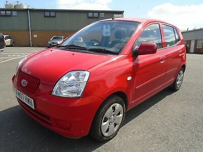 Kia Picanto Lx 1.1 5Dr 2007 07 56K Miles Mot May 2019 Perfect First Car Fsh