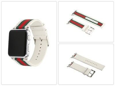Apple Watch Band Strap Replacement Wrist Brace Gucci Pattern 42mm New