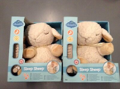 NEW - Cloud b Sound Machine Soother, Sleep Sheep - 2 PACK - FREE SHIPPING