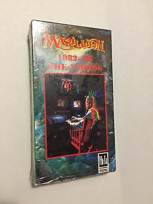 VERY RARE Circa 1986 Marillion Band THE VIDEOS VHS Tape w/ Wrap PUNK ROCK