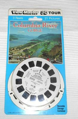 x View Master- Blisterpackung -3 Scheiben Columbia River Gorge